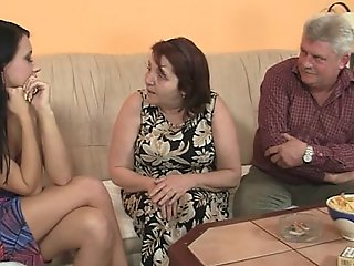 She is tempted by his old parents