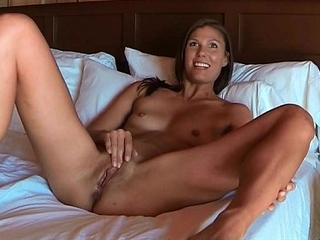 Sex porn Avia of age masturbating two toy