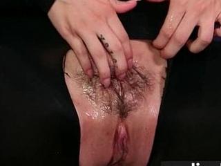 Undie fetish hairy twat fucked hard 5