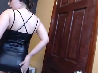latex leggings spandex show