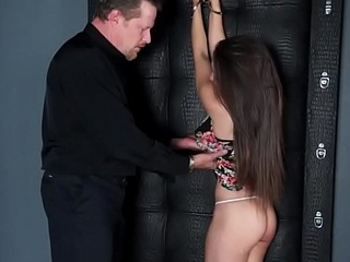 Teen gives wam blowjob