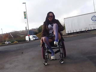 wheelchair lassie