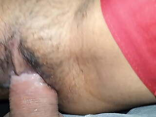 Hairy and tight this mellow indian pussy was fucking good