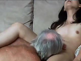 Daddy almost caught my uncle fucking me everywhere be passed on ass